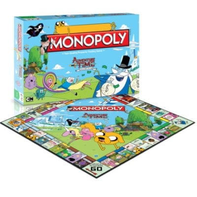 Adventure Time Board Game Monopoly