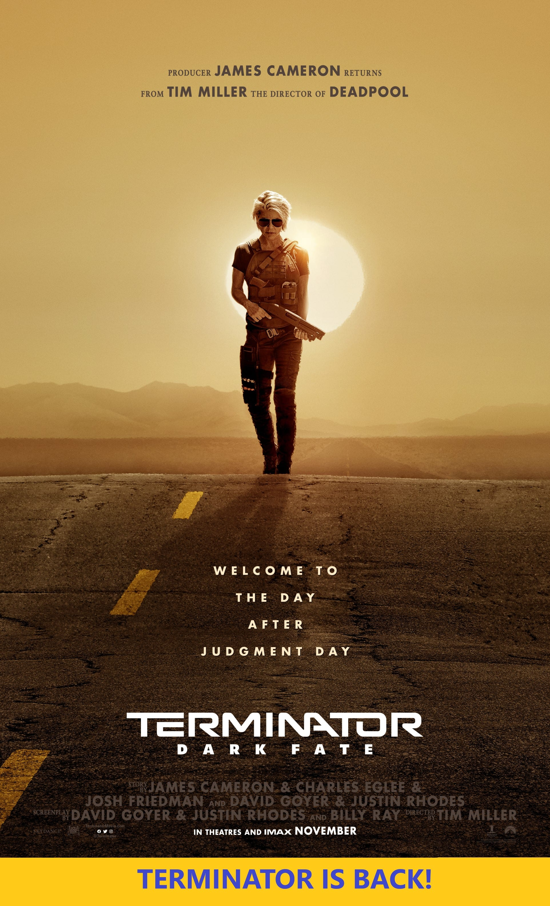 Terminator Dark Fate Movie Poster