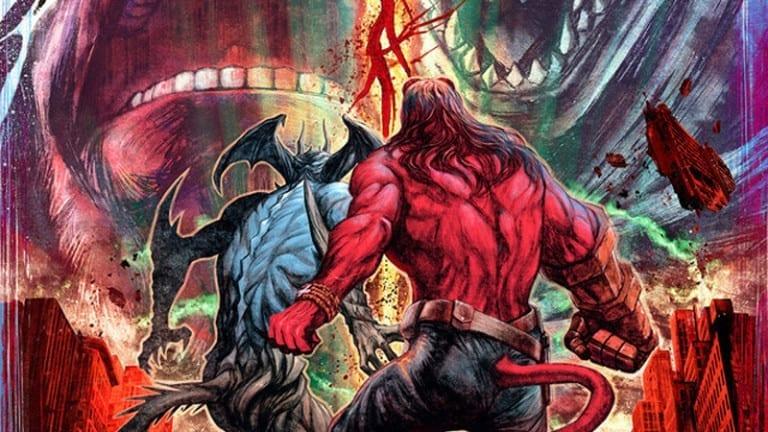 Hellboy & Devilman teamup