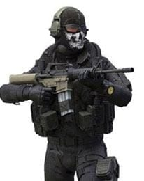 Simon Ghost Riley-Call of Duty Action Figure incl DLC