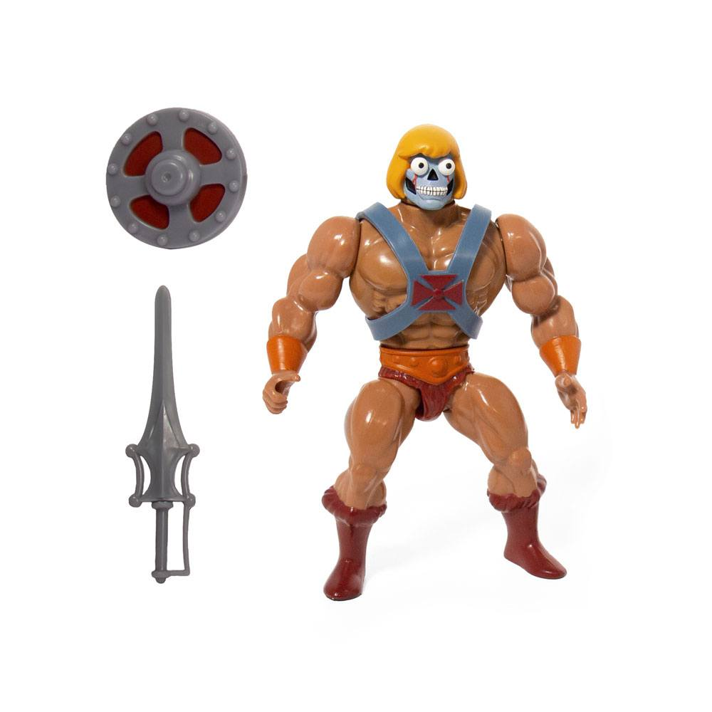 MASTERS OF THE UNIVERSE VINTAGE WAVE 4 GITD He-Man