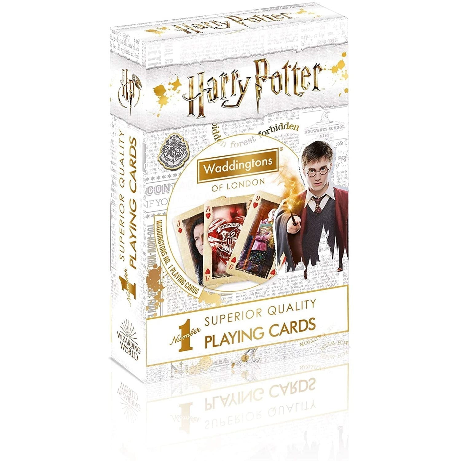 Waddingtons No 1 Harry Potter Playing Cards