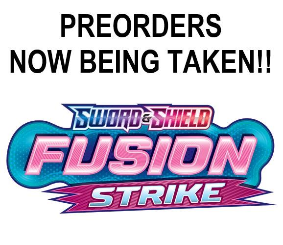 Pokemon Fusion Strike Preorders Now Being Taken!